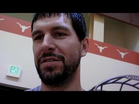 Brad Miller at Houston Rockets Training Camp