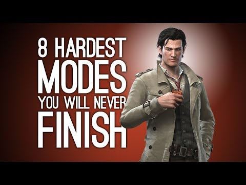 8 Hardest Difficulty Modes You Will Never Finish