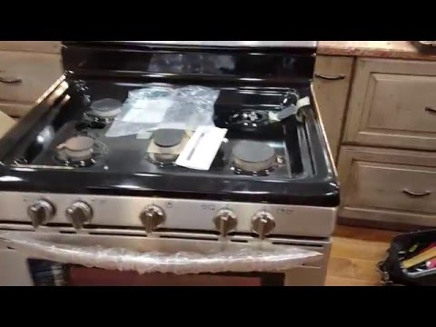 Fridgedaire stove natural gas to LP Conversion