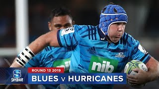 Blues v Hurricanes Rd.13 2019 Super rugby video highlights | Super Rugby Video Highlights