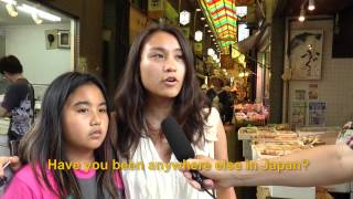 Travelers' Voice of Kyoto: NISHIKI MARKET Area Interview 006