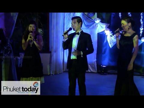 Fivera perform in Phuket at Ayara Hilltops