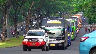 Video MUDIK 2018 : RAMAINYA..!!! Konvoi 53 Bus MUDIK GRATIS BERSAMA GUYUB RUKUN MP3, 3GP, MP4, WEBM, AVI, FLV Juni 2018