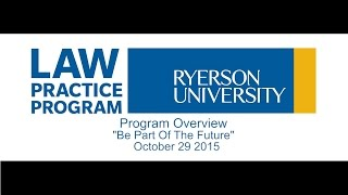 Program Overview with </br>UofT Law and Western Law Alumni