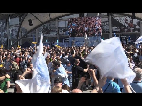 Manchester City Fans React To Brighton 1-2 Man City In The First Half