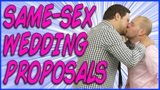 Video 21 Epic Same-Sex Wedding Proposals That Will Make You Cry MP3, 3GP, MP4, WEBM, AVI, FLV Oktober 2018