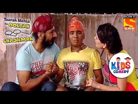 Gogi Is Trapped By A Ghost | Tapu Sena Special | Taarak Mehta Ka Ooltah Chashmah