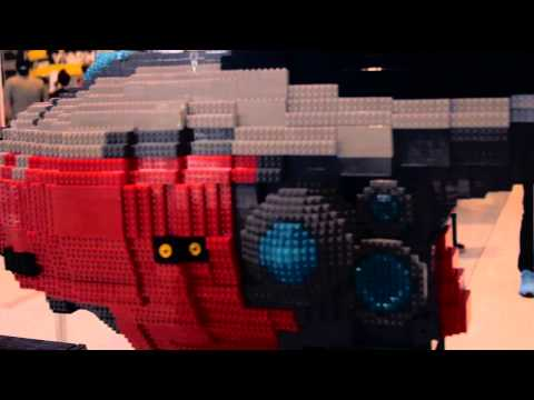 LEGO - As part of the Carbine Studios activity during PAX East, acclaimed LEGO artist Mariann Asanuma built a LEGO replica of the Rocket House players receive by pre-ordering WildStar. The sculpture...