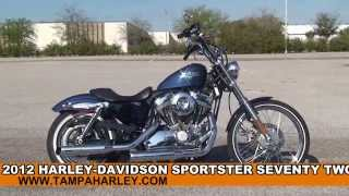 10. Used 2012 Harley Davidson Sportster Seventy-Two Motorcycles for sale - Lakeland, FL