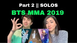 Video BTS MMA 2019 Performance REACTION || Part 2 (SOLO Performances) download in MP3, 3GP, MP4, WEBM, AVI, FLV January 2017