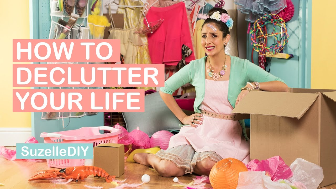 How to Declutter your Life-graphic