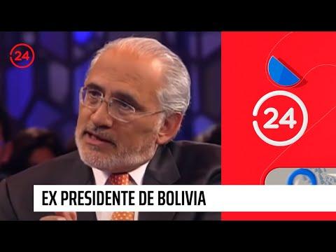 Ex presidente de Bolivia: