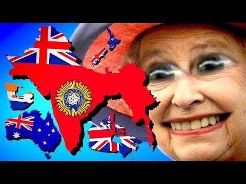 British Empire Restored in Modern Day! | Hearts of Iron 4 [HOI4 - UK Monarchy] (видео)