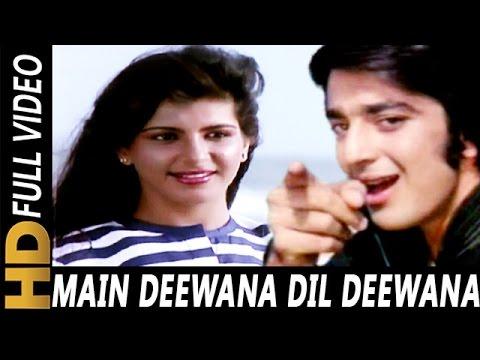 Main Deewana Dil Deewana   Kishore Kumar   Zameen Aasmaan 1984 Songs   Sanjay Dutt, Anita Raj