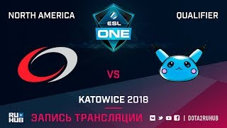 compLexity vs Blue Pikachu, ESL One Katowice NA, game 1 [Lum1Sit, Inmate]