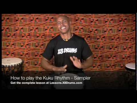 How to Play Kuku Rhythm on Djembe – X8 Drums Online Djembe Lessons
