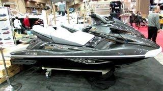 7. 2013 Yamaha Wave Runner FX Cruiser SHO Jet Ski - Walkaround - 2013 Montreal Boat Show