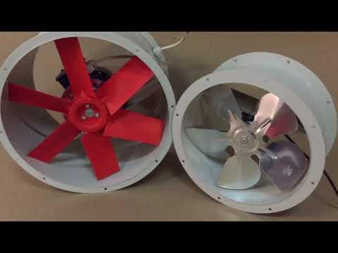 Осевой вентилятор ВОК 380