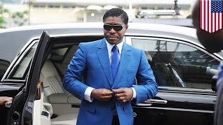 """You can have my $30 million dollars! But you'll never get my MJ memorabilia!"""" That's what you could say if you were Teodoro Nguema Obiang Mangue, vice ..."""