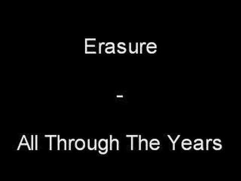 All through the years Erasure