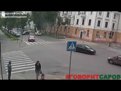 ДТП в Сарове на улице Мира