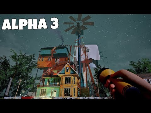 HELLO NEIGHBOR ALPHA 3 GAMEPLAY WALKTHROUGH