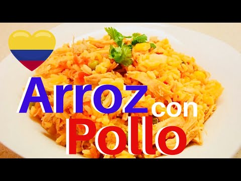 Pollo - Arroz - Arroz Con Pollo Colombiano - Rice With Chicken - Elmundodelynda