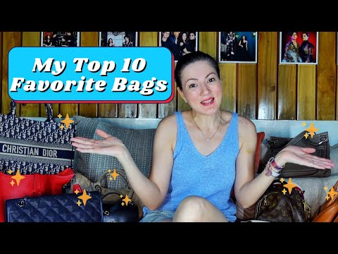 My Top 10 Favorite Bags 👜 | Carmina Villarroel Vlogs 📹
