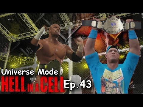 General Manager Mode | HELL IN A CELL PPV | WWE 2K16 Gameplay