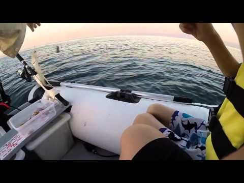 Fishing From Inflatable Dinghy Part 4