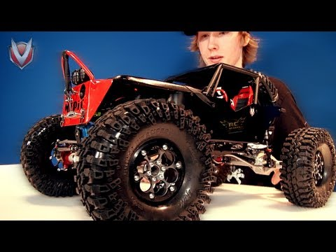 axial wraith - http://www.RCSparks.com - 1080HD For TOP Quality Viewing! A COMPLETE CUSTOM JOB! The