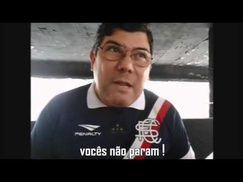 Chamada do Presidente do Santa Cruz Alírio Moraes para a torcida tricolor - Portão 10 - Santa Cruz