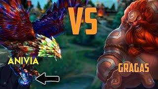 Video Gragas vs Anivia || Full Gameplay MP3, 3GP, MP4, WEBM, AVI, FLV Agustus 2019