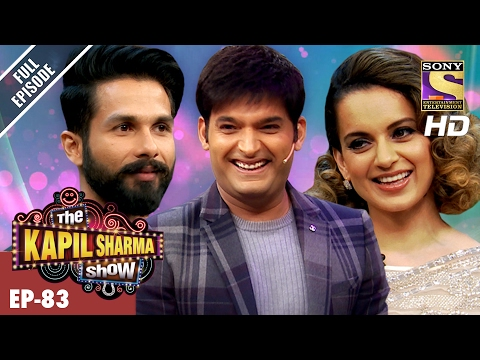 The Kapil Sharma Show - दी कपिल शर्मा शो- Ep-83 - Shahid And Kangana In Kapil's Show –19th Feb 2017