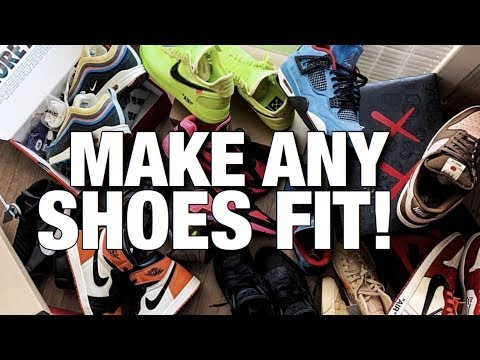 How To Make Small Shoes Fit Larger