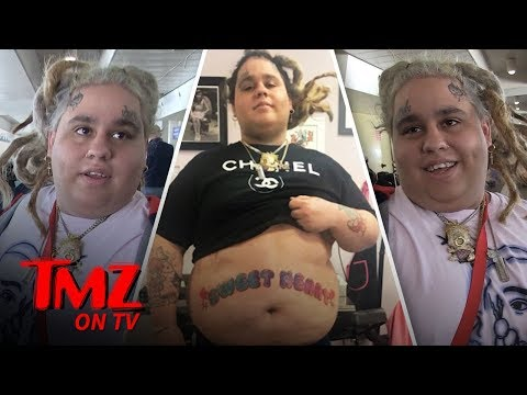2018 Is The Year Of The Face Tattoo | TMZ TV