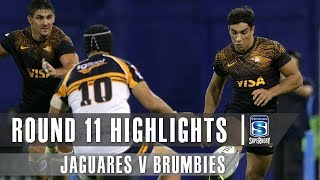 Jaguares v Brumbies Rd.11 2019 Super rugby video highlights | Super Rugby Video Highlights