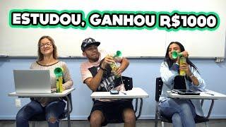 ESTUDOU, GANHOU R$1000 - Episódio 1