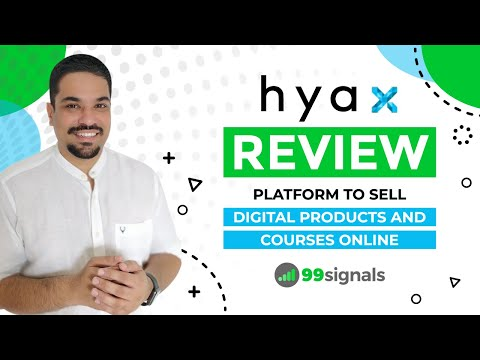 Watch 'Hyax Review & Demo: An All-in-One Platform to Create & Sell Online Courses & Digital Products'