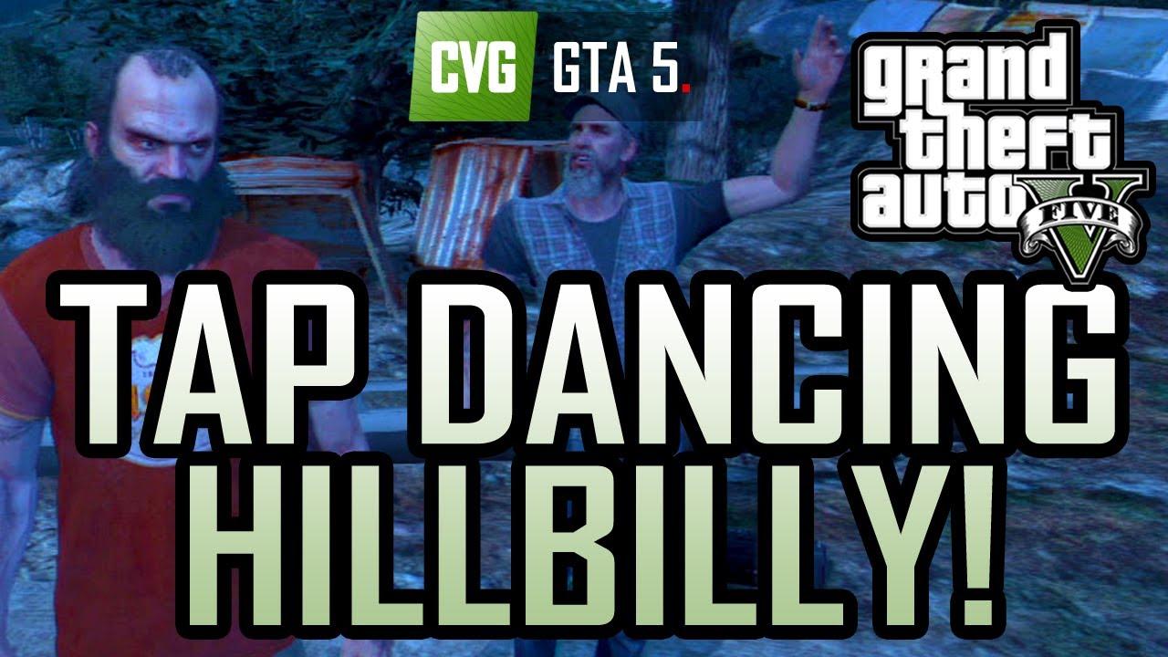 GTA 5 naked hippies easter-egg - YouTube
