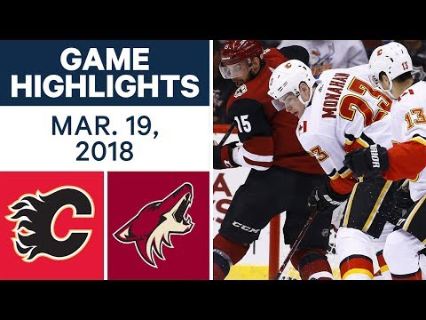 Video: NHL Game Highlights | Flames vs. Coyotes - Mar. 18, 2018