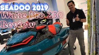 4. Seadoo Wake Pro 230 2019| vlog 10- Review | Powersports Kuwait| Jetski