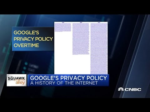NYT columnist Charlie Warzel on the evolution of Google's privacy policy