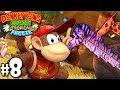 Donkey Kong Country Tropical Freeze Co-Op Baobab Boogie PART 8 (Wii U HD Gameplay Walkthrough Coop)