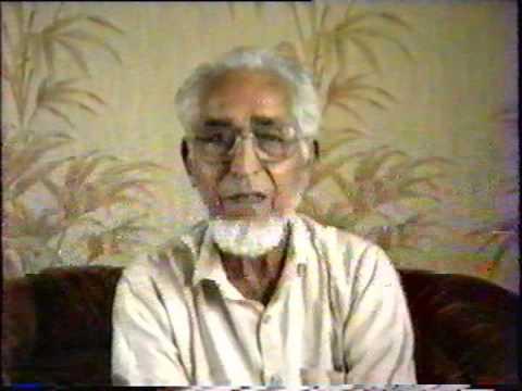 Syed Siraj-ul Hoda reciting his Urdu poetry in Brownstown, MI, USA