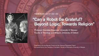 "Supernaturalism Seminar: Stanisław Krajewski, ""Can a Robot be Grateful?"""