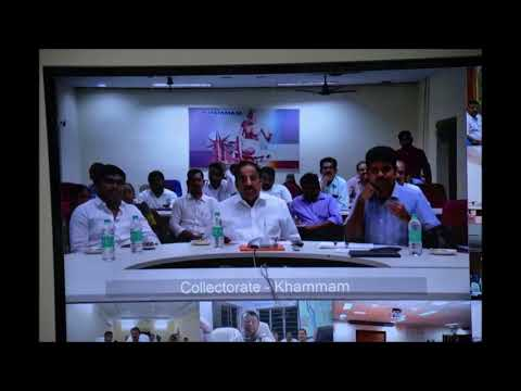 , Harish Rao Held a Video Conference