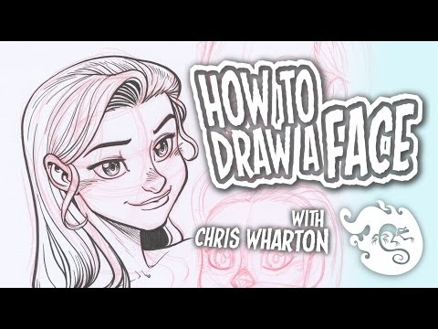How To Draw A Face (Basics) - How To Draw #2