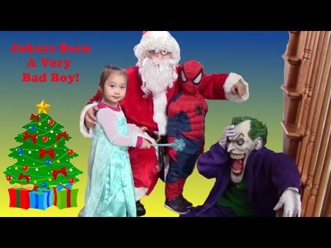Joker Steals Christmas