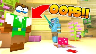 KILLING THE MURDERER BY ACCIDENT.. TWICE!! IN MINECRAFT MURDER...